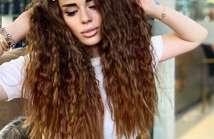 making curly hairstyle without using heat 1