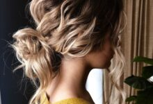 Photo of Bun Hairstyle – Cute Bun Hairstyle 2021