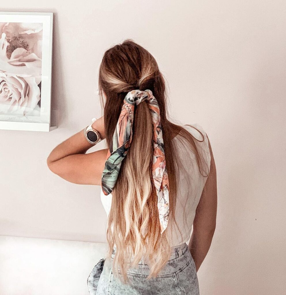 Scarf Hairstyles 2020 trend