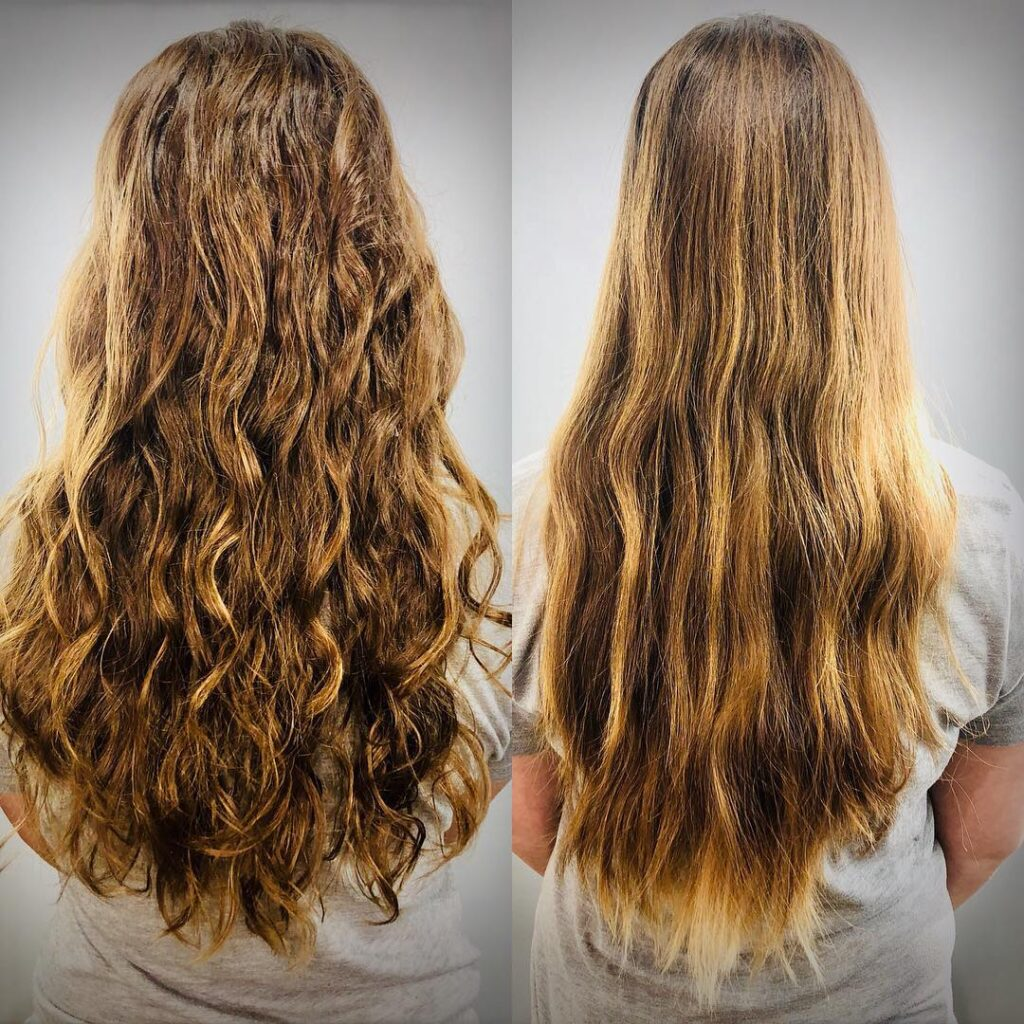 American Wave Perm Before and After Pictures