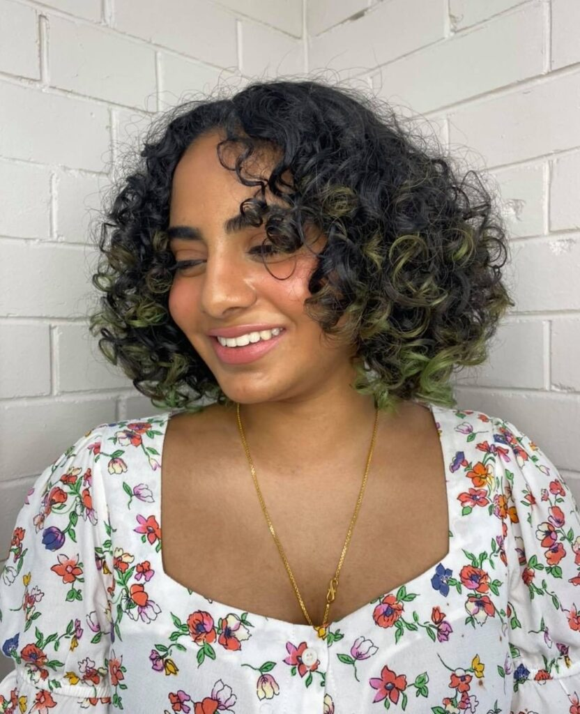 Curly Bob Hairstyle for Hairstyles for Plus Size Women