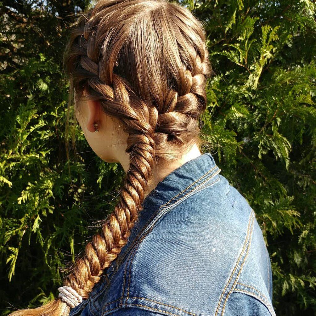Herringbone Braids Hair