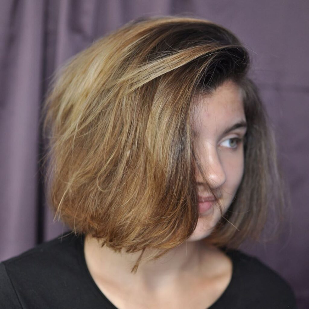 Short Thick Hairstyle