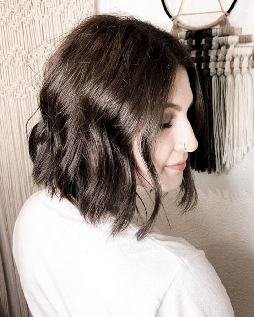 Short Wavy Bob Hairstyles for Hairstyles for Plus Size Women