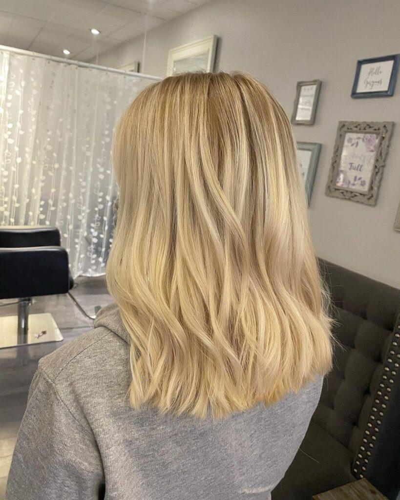 bleach wash hair