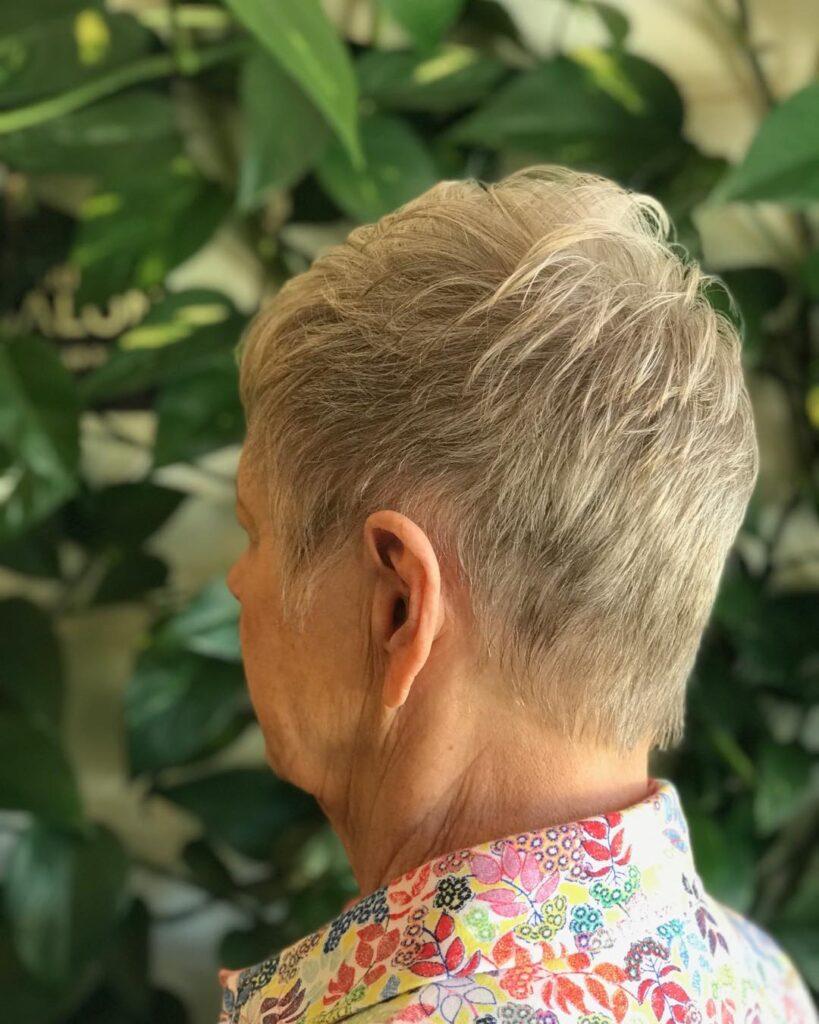 Extra Short Grey Cut