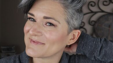 Photo of Natural Hairstyles For Short Gray Hair