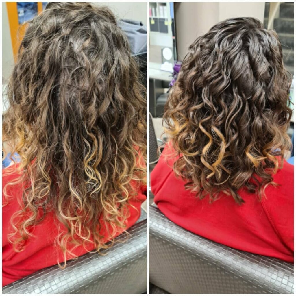 Pictures Before And After Curly Girl Method