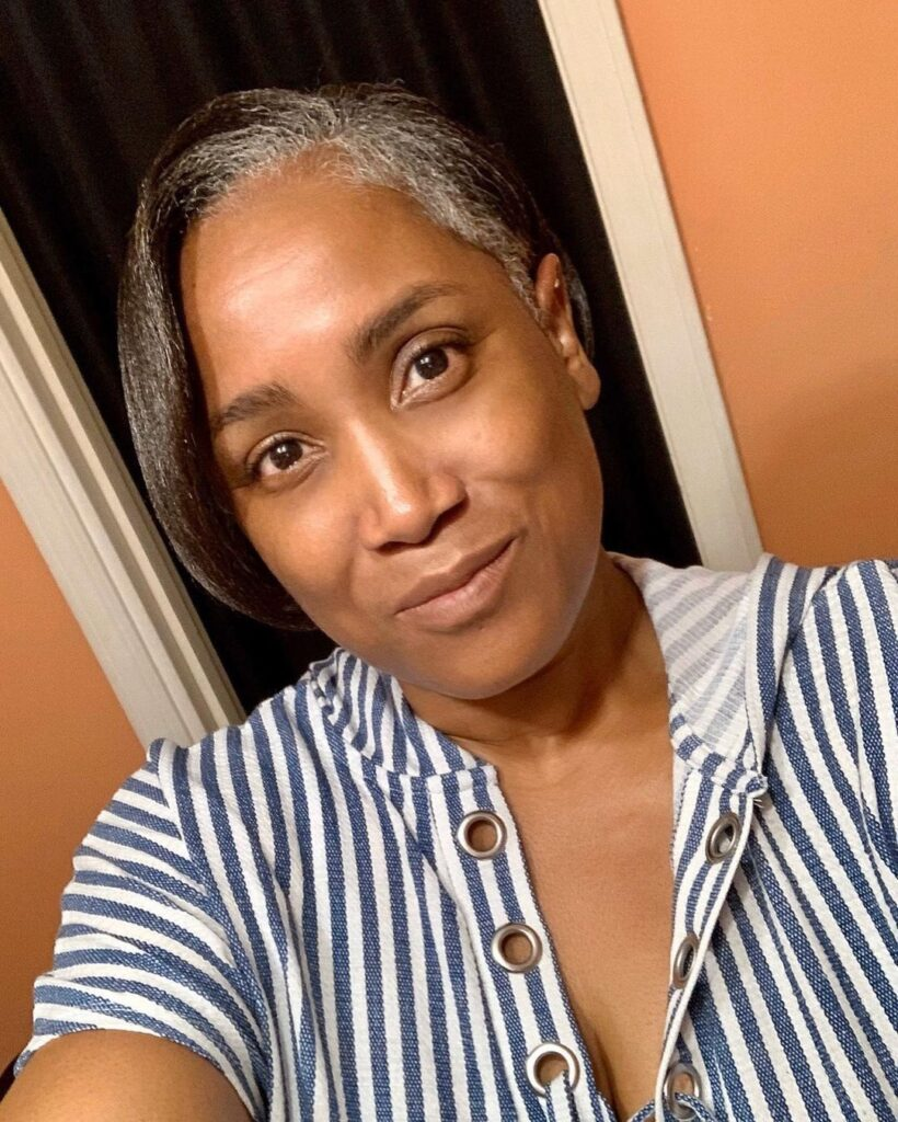 Short Natural Hairstyles For Black Women With Gray Hair