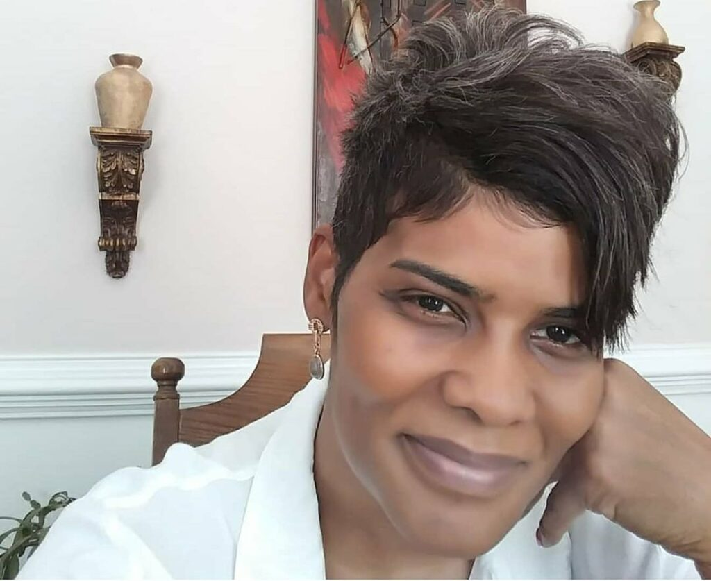 Short Natural Hairstyles For Black Women With Gray Hairstyle