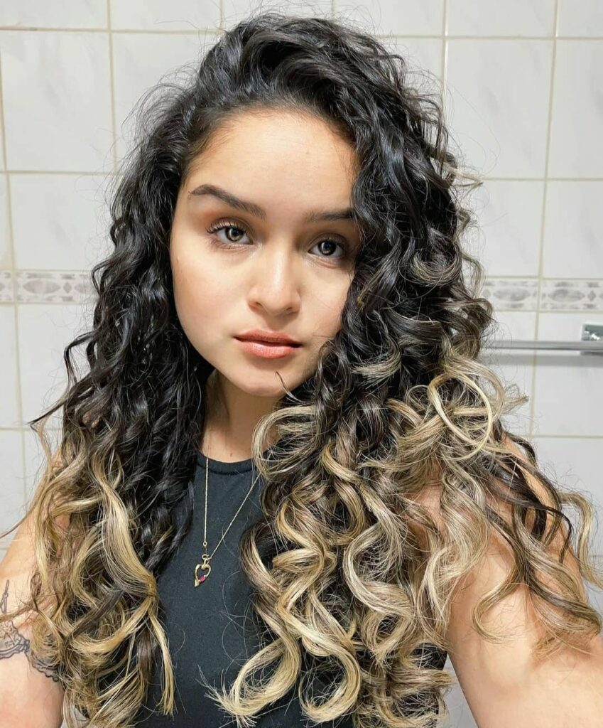 curly hair - curly girl method